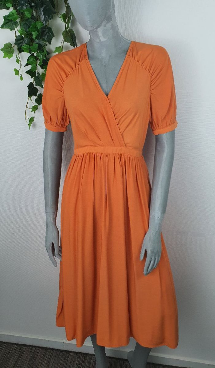 The Korner Jurk Lena Orange