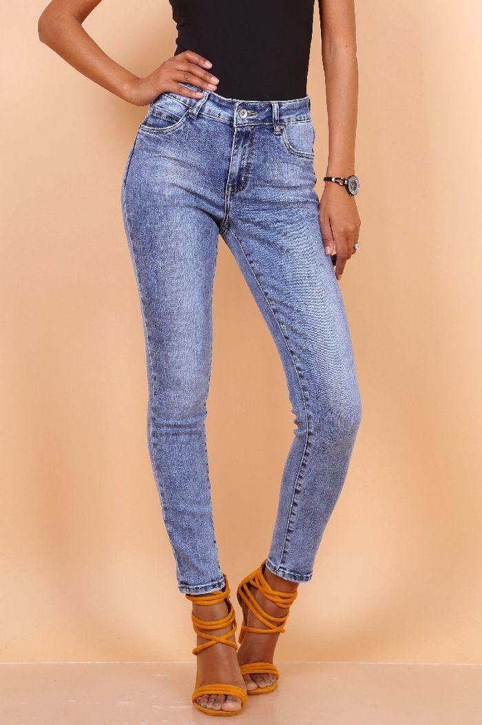 Toxik Jeans Skinny Regular Waist Blue L3062