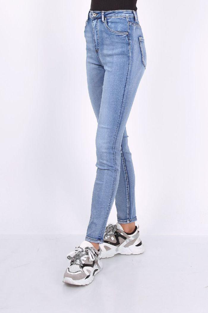 Toxik Jeans Skinny High Waist Blue L185-J41