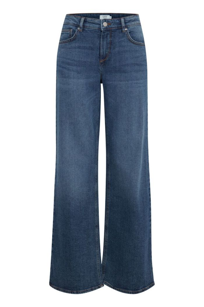 B.Young Jeans Kato Lisa Wide Leg Mid Blue