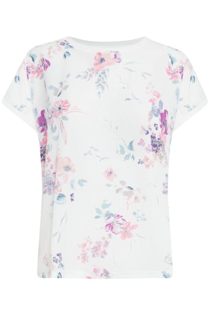 B.Young T-Shirt Panya Flower off white mix
