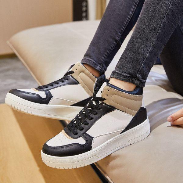 Ideal Sneaker Emma Black/Beige