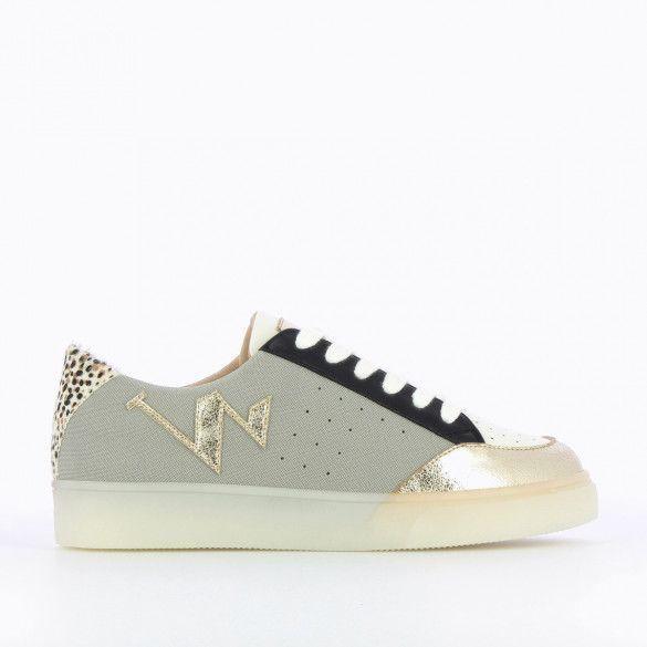 VANESSA WU Sneaker Gris