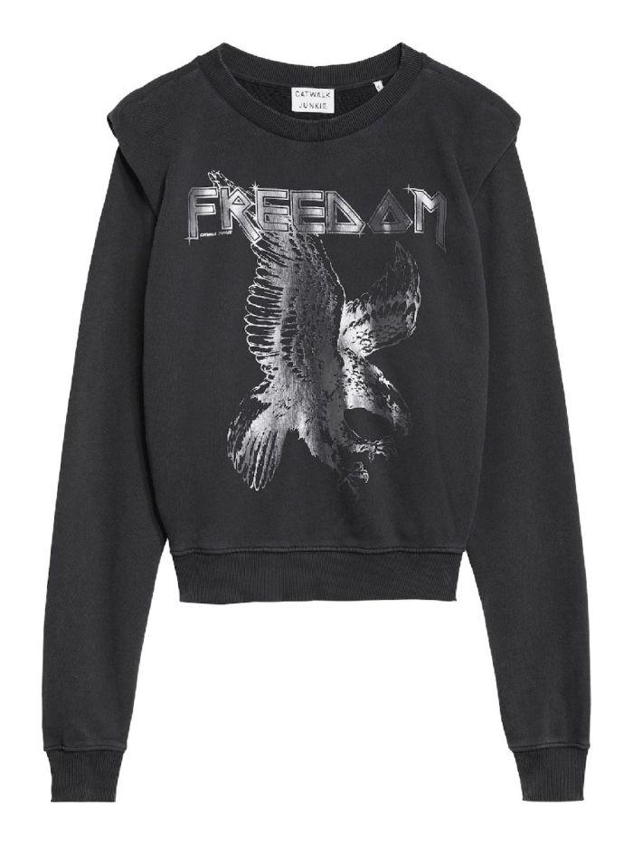 Catwalk Junkie Sweater Free Dark Grey