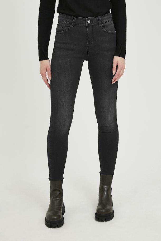 B.Young Jeans Lola Luni Mid Grey Denim
