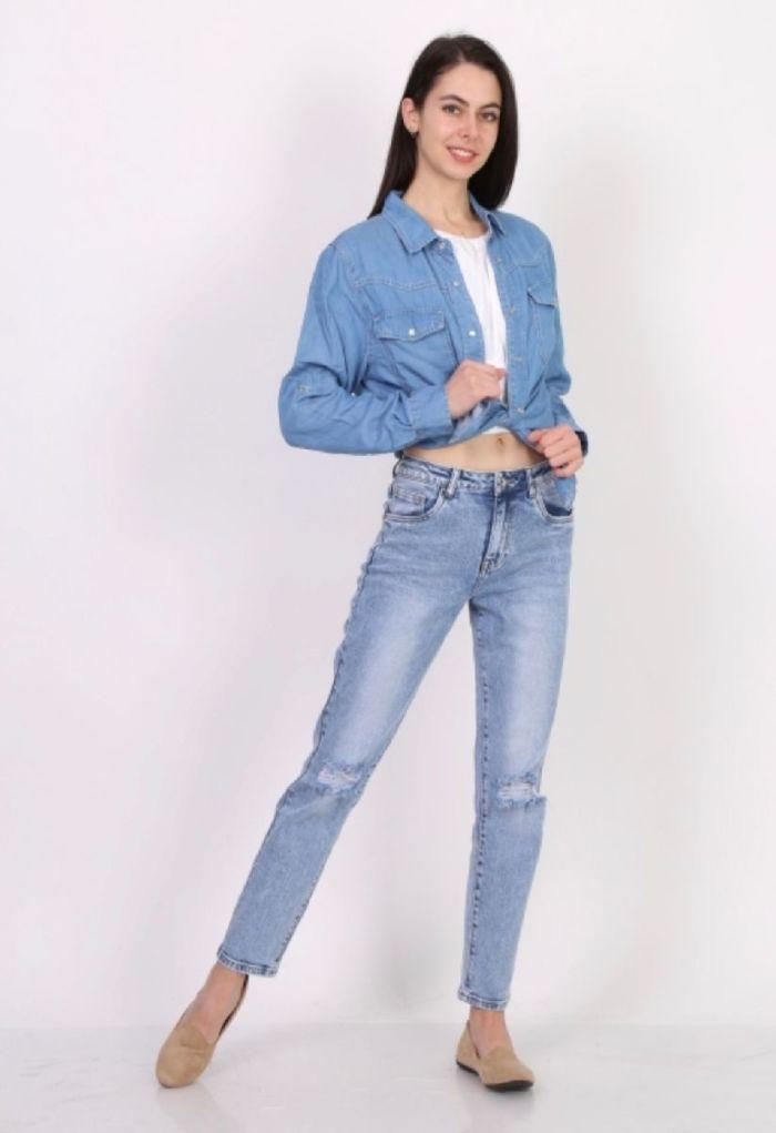 Toxik Jeans Boyfriend Blue