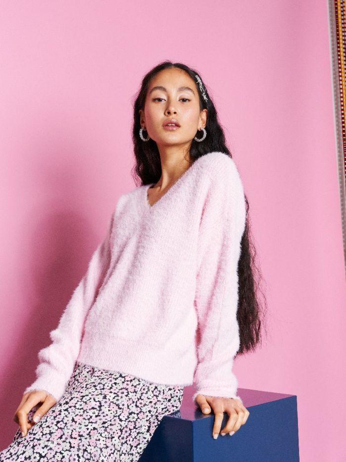 Catwalk Junkie Trui Breeze Pink Lady